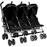 Kidz Kargo Triple buggies Triple buggy Triple pushchair for 3 toddlers or 3 babies.