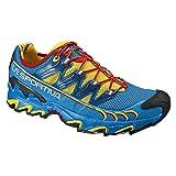 La Sportiva - Scarpe da running da uomo, modello Ultra Raptor, colore: blu/giallo, 43