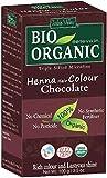 Indus Valley henné colorant capillaire chocolat 100% bio organique triple tamisée en poudre microfine (Chocolate)