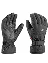 Leki–Guantes de esquí Scout S , unisex, color negro, tamaño large