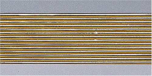 Knorr Prandell 8306028 Wachsstreifen, 2 mm/20 cm, gold