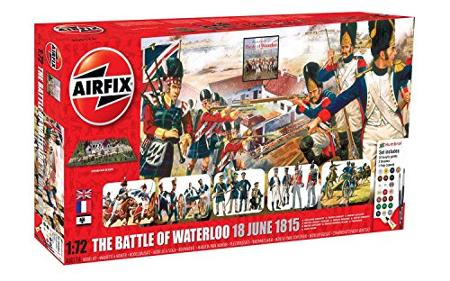 Airfix Ai50174 - La Battaglia di Waterloo 1815, Kit per modellismo, Scala 1/72