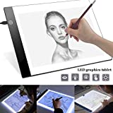 BESTEU A4 LED Kopie Station Zeichnung Kopie Tracing Light Box USB wiederaufladbare Art Schablonen Tattoos Tracing Plat