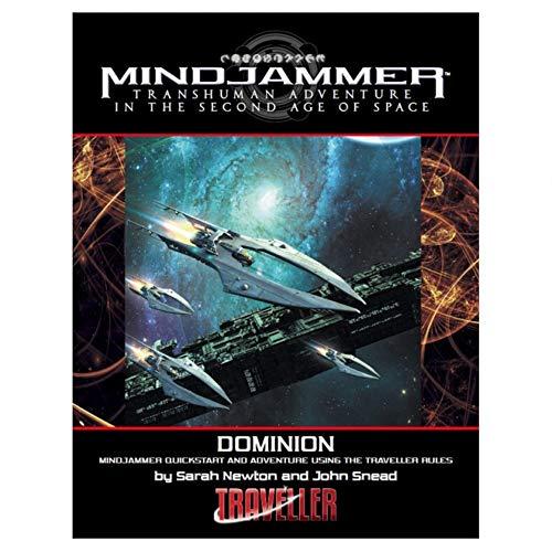 Modiphius MUH042502 Dominion Quickstart: Mindjammer Traveller Edition RPG