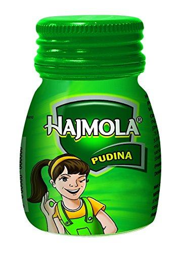 Dabur Hajmola Digestive Tablets, Pudina – 120 Tablets (Bottle)