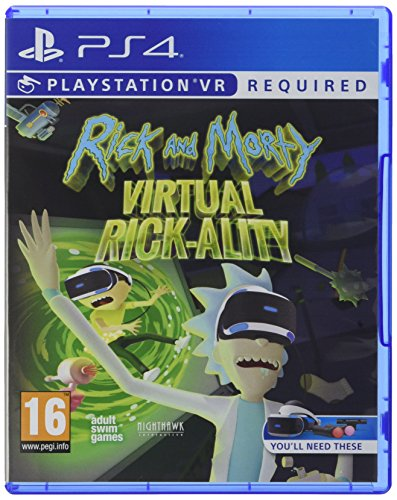 Rick and Morty Virtual Rick-Ality - PlayStation 4 [Importación inglesa]