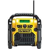 DeWalt Akku- und Netz-Radio / DAB(+)/FM Baustellenradio DCR020 geeignet für alle DeWalt XR Akkus 10,8-18,0V - Lieferung ohne Akku!