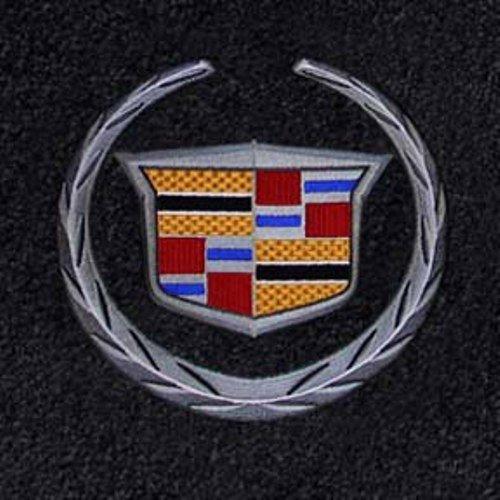 cadillac-srx-ebony-floor-mats-w-silver-crest-logo-2012-2013-2014-2015-by-lloyd-mats