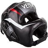 VENUM Kopfschutz, Iron, Elite, schwarz, Headguard, Vollkontakt Protector, Muay Thai
