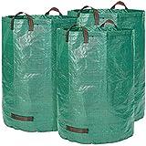 Sac de jardin 3 x 300 litres - 3 sacs de jardin Premium XXL - Sacs de déchets de jardin stables en polypropylène extrêmement