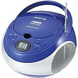 Naxa Portable MP3/CD Player With AM/FM Stereo Radio- Blue Naxa Portable MP3/CD Player With AM/FM St