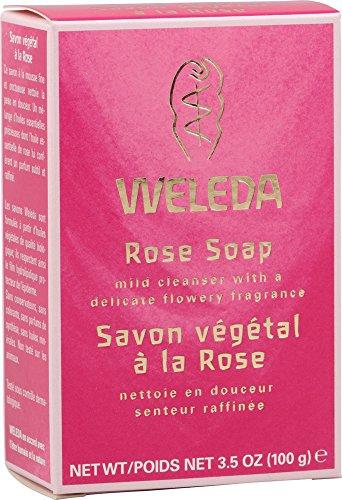 Weleda Pflanzseife, 100 g, Rosa (Wild Weleda Rose)