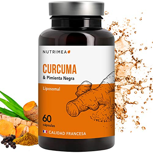Organic Turmeric Black Pepper Extract Curcumin Capsules Bioperine Piperine Lose Weight Powerful Anti-inflammatory Antioxidant Natural Vegan Capsules Turmeric French Manufacture