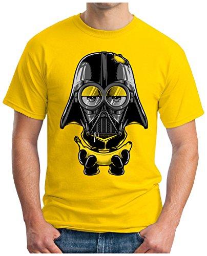 OM3 - MINI-VADER - T-Shirt, S - 5XL Gelb