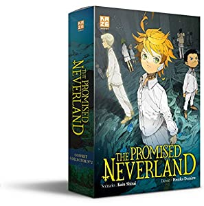 The Promised Neverland Coffret Roman 2 & Tome 12 One-shot