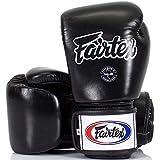 Fairtex Boxhandschuhe, BGV-1, schwarz, Boxing Gloves MMA Muay Thai Thaiboxen Size 12 Oz Vergleich