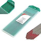 ExcLent 10 Unids 2% Thoriated Wt20 Rojo Tig Soldadura Electrodo De Tungsteno 0,04 Pulgadas X 6 Pulgadas (1,0 Mmx150Mm)