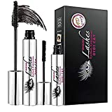 ROMANTIC BEAR 4D Mascara with Silk Fiber Extensions,Effectively Lengthening and Thickening Lashes Makeup Set