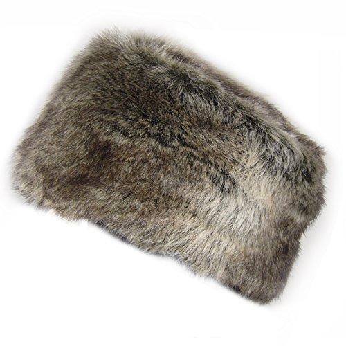 Hey Hey Twenty - Russian Style Faux Fur Pillbox Hat