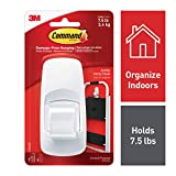 Command Jumbo Hook with Strips - White, Pack of 1