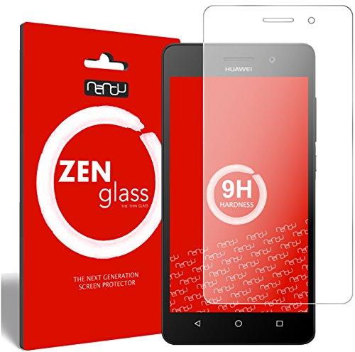 nandu I ZenGlass Flexible Glas-Folie für Huawei G Play Mini Panzerfolie I Bildschirm-Schutzfolie 9H