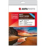 AgfaPhoto AP13050A4M - Papel (A4 (210×297 mm), Rojo, Color blanco, Inkjet printing, Mate)