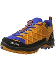 SALEWA Jr Wildfire Waterproof, Zapatos de Low Rise Senderismo Unisex Niños