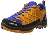 Salewa Unisex-Kinder JR Wildfire Waterproof Trekking-& Wanderhalbschuhe, Orange (Arancio/Davos 8490), 36 EU