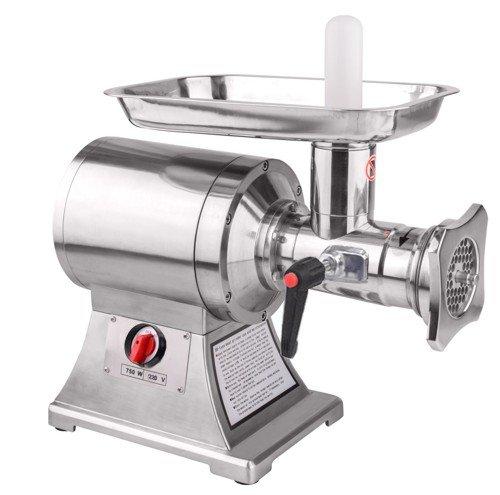 Sirge AL22 Tritacarne Professionale 750 Watt (1HP) con corpo in acciaio trita fino a 250 kgh