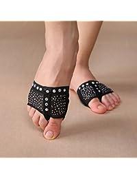 LoveAir 1 par de Fundas para Zapatos de Danza del Vientre con diseño de Diamante y Media Letra S/M/L/XL, Medium