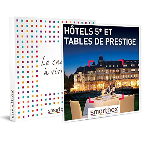 SMARTBOX - coffret cadeau couple - Hôtels 5* et tables de prestige - idée cadeau...
