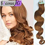 Best Full Hair Remy Hair Extensions - Remeehi 20Pcs 60G Full Head Remy Tape In Review