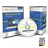 Microsoft® Visio 2019 Professional DVD mit original Lizenz. Papiere & Lizenzunterlagen von S2-Software GmbH & Co. KG