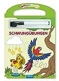 Schreib und Wisch Weg Erste Schwungübungen mit Stift: 24 Seiten (Schreib und Wisch Weg Lernhefte, Band 2)