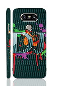 AMAN D J With Colour 3D Back Cover for LG G5
