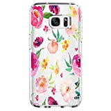 Samsung Galaxy S7 Edge Hülle, Wouier® Flamingo theme Netter Babyelefant Schutzhülle Silikon Crystal Ultra Durchsichtige Backcover Soft TPU Bumper Backcover Case (Color 1, Samsung Galaxy S7 Edge)
