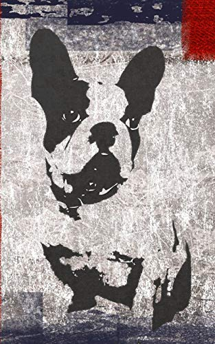 journal: French Bulldog - Composition Notebook - Diary :  lined : 5 x 8' :  200 pages
