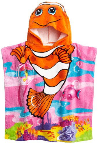 Northpoint Monster Truck Kids mit Kapuze Strandtuch Cute Clownfish