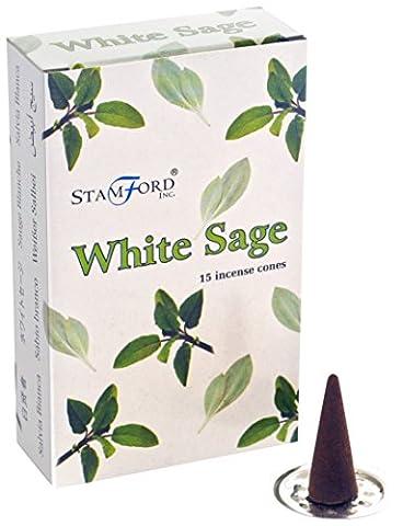 Stamford Cône d'encens Sauge blanche,