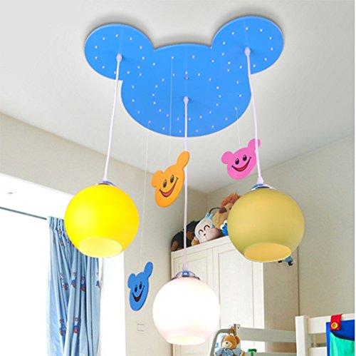 Children 's Kronleuchter Kindergarten dekorative Leuchten Jungen Mädchenraum Karikatur Kronleuchter Schlafzimmerbeleuchtung Lampen