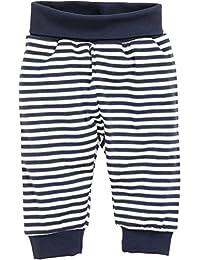 Schnizler Babyhose, Pumphose Maritim Geringelt Mit Elastischem Bauchumschlag, Oeko-Tex Standard 100, Pantalon de Sport Mixte Bébé