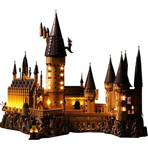 YVSoo LED Licht-Set für Baustein Spielzeug LED Beleuchtung Kit für Lego Harry Potter Schloss Hogwarts 71043 Bauset - Modell Nicht Enthalten