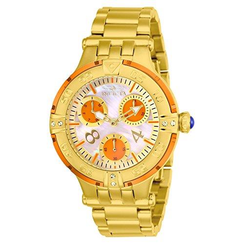 Invicta Women's Subaqua Gold-Tone Steel Bracelet & Case Quartz Watch 26144