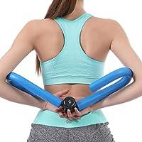 Aparato de gimnasia IVIM para mejorar el tono muscular, para casa o para viajes, ideal para la cintura, los muslos, las caderas y los brazos, para hombres y mujeres, hombre, azul