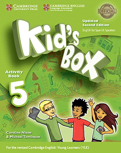 Kid's Box Level 5 Activity Book with CD ROM and My Home Booklet Updated English for Spanish Speakers Second Edition - Pack de 3 libros - 9788490369692 por Caroline Nixon