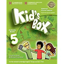 Kid's Box Level 5 Activity Book with CD ROM and My Home Booklet Updated English for Spanish Speakers Second Edition - Pack de 3 libros - 9788490369692