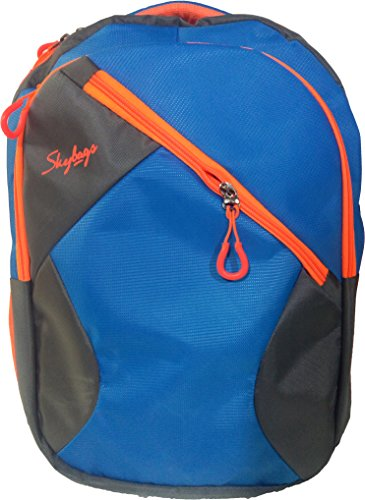 Skybags Orange Grey And Blue Backpack, Bag, For School, Office and Laptop Backpack Bag (Water Resistant)  available at amazon for Rs.799