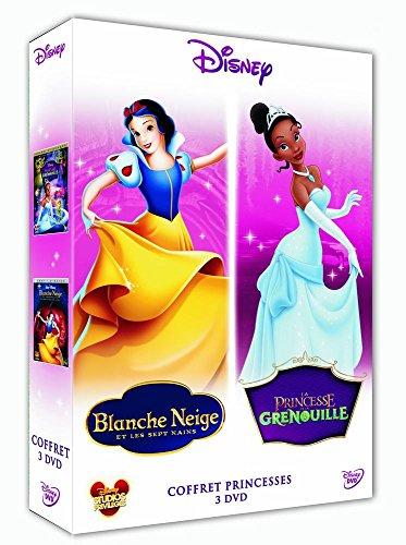 La princesse et la grenouille + Blanche-neige et les sept nains - Coffret 2 DVD