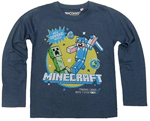 Minecraft Langarmshirt (122/128, (My Pinkie Little Hoodie Pie Pony)