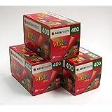Photo pour Agfa Vista 400 Lot de 3 pellicules 35 mm